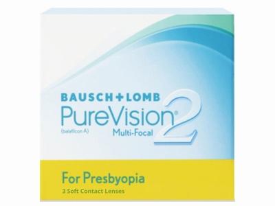 PureVision2 for Presbyopia 3 lenzen