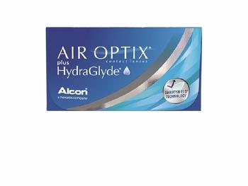 Air Optix plus HydraGlyde 6 Lenzen