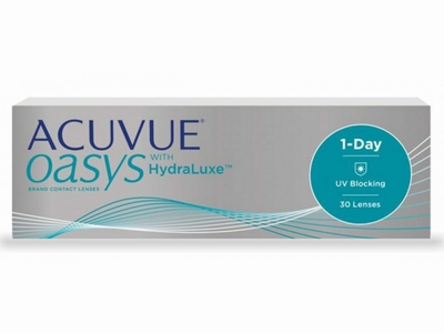 Acuvue Oasys 1 Day with HydraLuxe, 30 lenzen