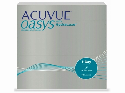 Acuvue Oasys with HydraLuxe, 90 lenzen