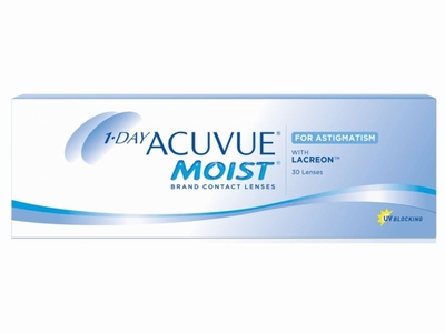 1 Day Acuvue Moist for Astigmatism, 30 lenzen