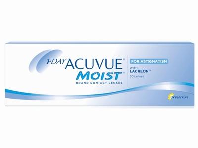 1 Day Acuvue Moist for Astigmatism, 30 lenzen