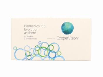 Biomedics 55 Evolution 3 lenzen