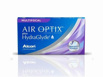 Air Optix Multifocal plus HydraGlyde 3 lenzen