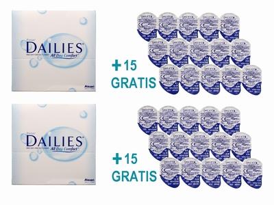 Focus Dailies ADC 180 + 30 Dailies ACP daglenzen Actie