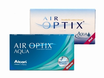 Air Optix Aqua 3 lenzen