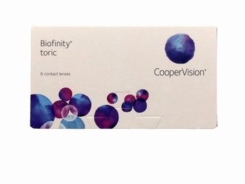 Biofinity Toric 6 lenzen