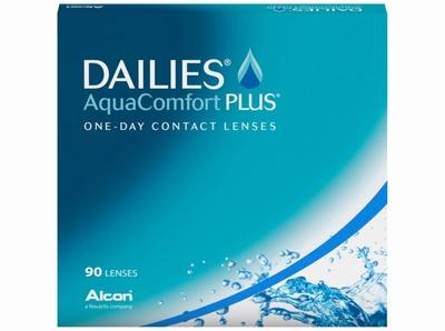 Dailies Aqua Comfort Plus 90 lenzen