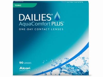Dailies Aqua Comfort Plus Toric 90 lenzen