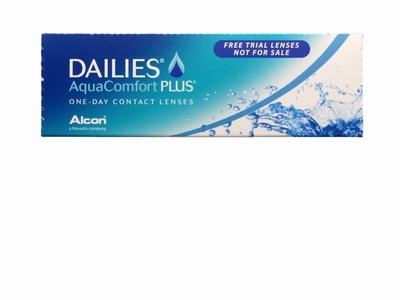 Dailies AquaComfort Plus (actie gratis daglenzen).