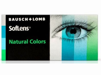 SofLens Natural Colors 2 lenzen