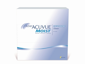 1 Day Acuvue Moist for Astigmatism, 90 lenzen
