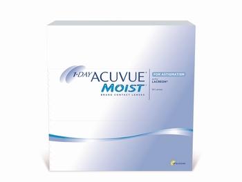 1 Day Acuvue Moist for Astigmatism, 90 lenzen