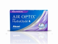Air Optix Multifocal plus HydraGlyde 3 lenzen