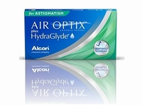 Air Optix for Astigmatism plus HydraGlyde 3 lenzen