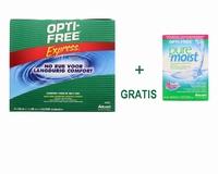 OptiFree Express voordeelpak + PureMoist 60 ml. Actie!