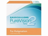 PureVision2 for Astigmatism 6 lenzen